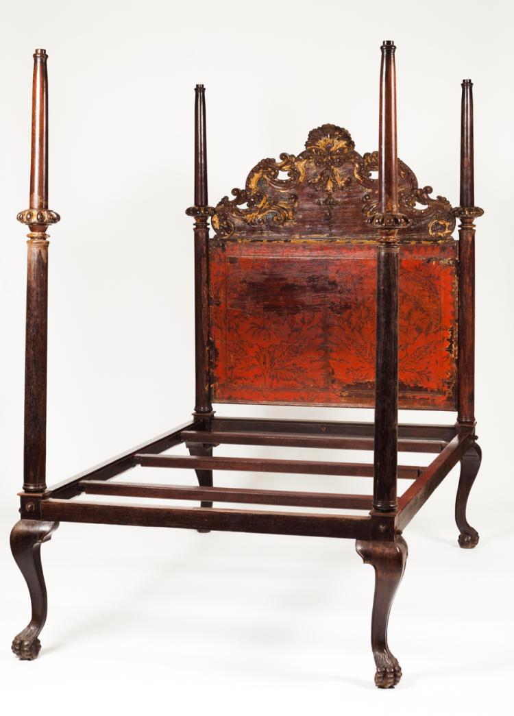 A D. João V (1707-1750) canopy bed