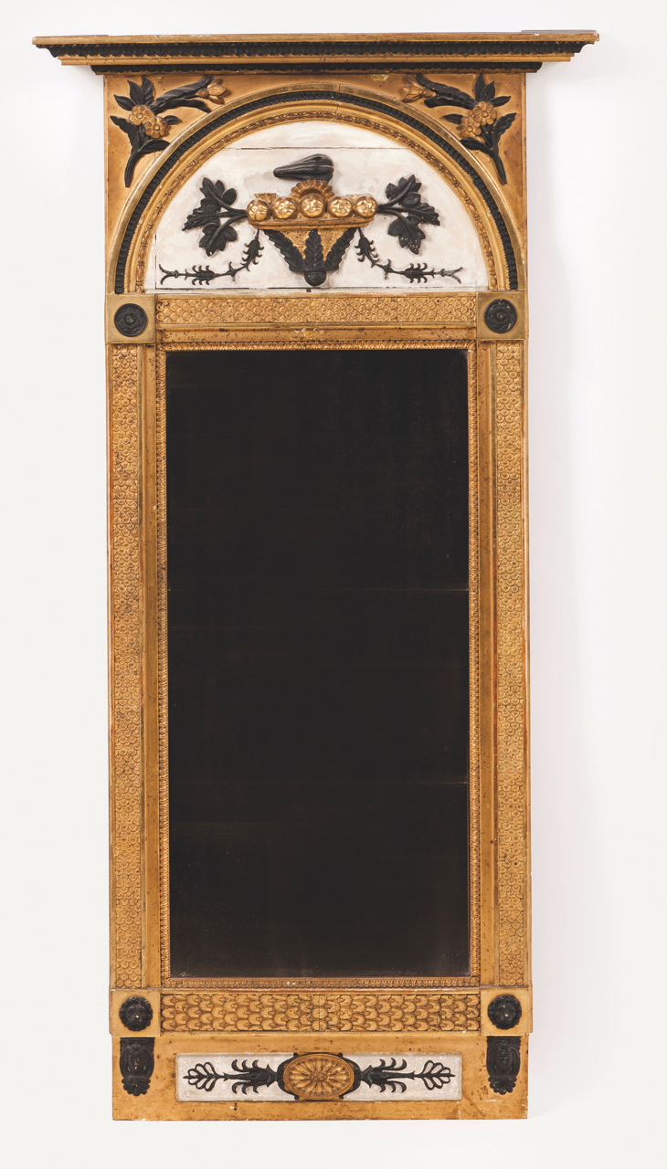 A Gustav IV wall mirror