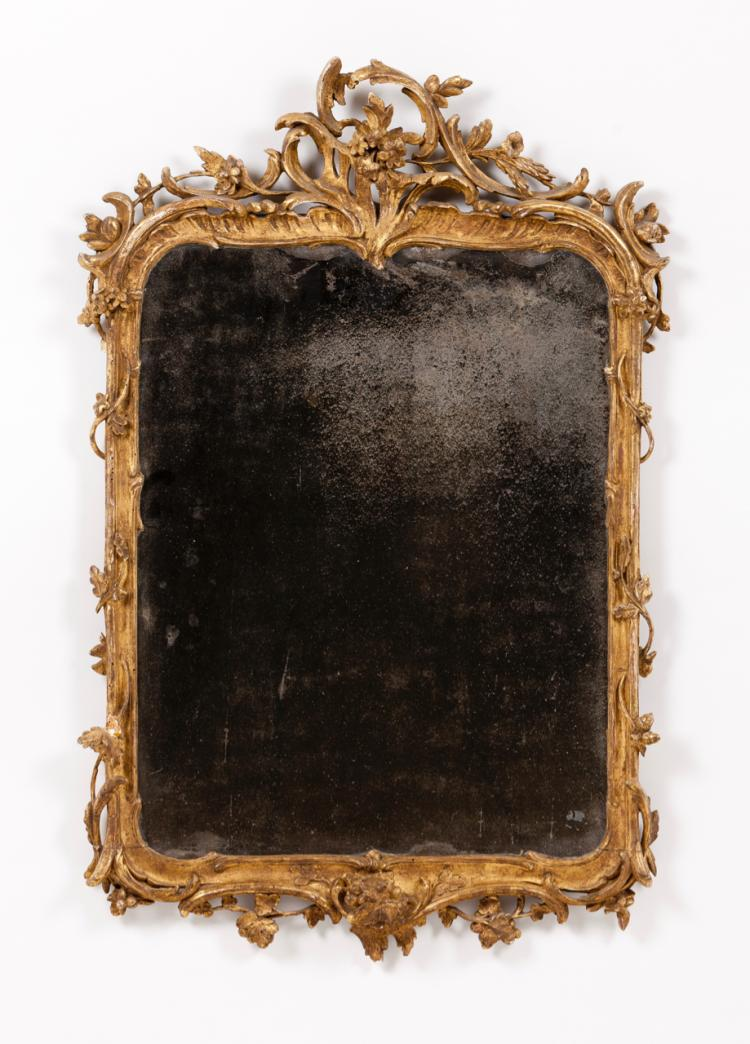A Louis XV mirror