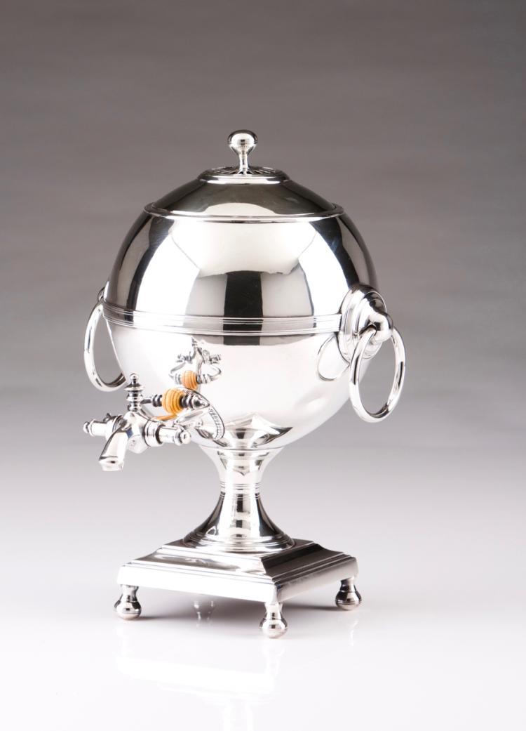 A tea urn