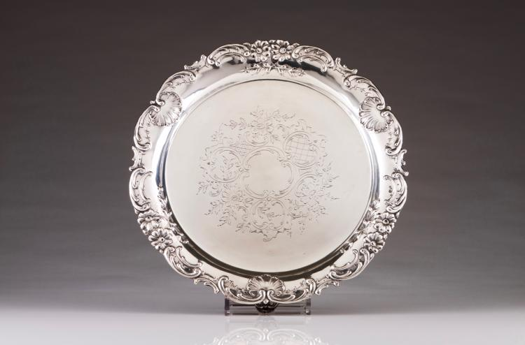 A Belle-Époque footed salver