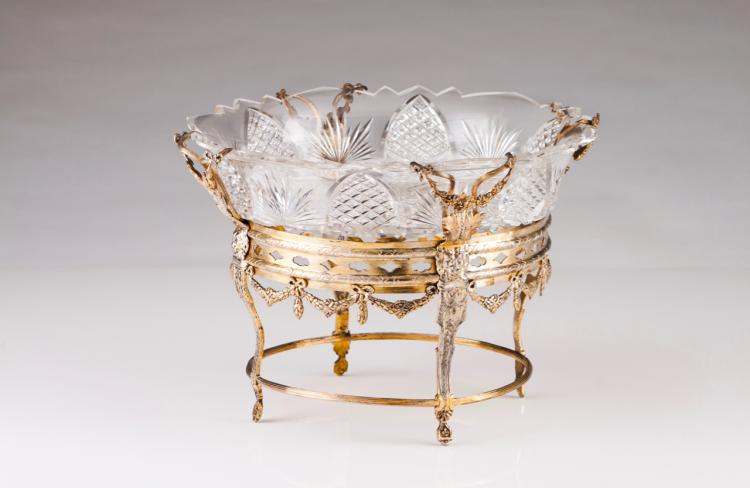 A Belle-Époque fruit bowl/centre piece