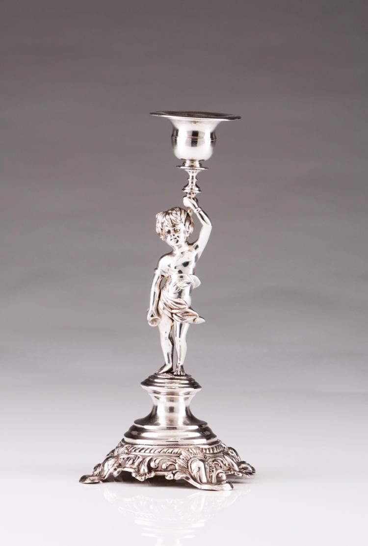 A Belle-Époque candlestick