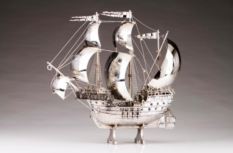A model of a caravel