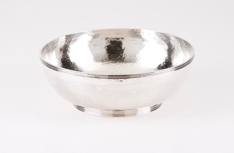 An hammered bowl