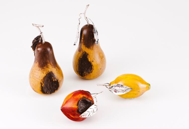 A pear. LUIZ FERREIRA