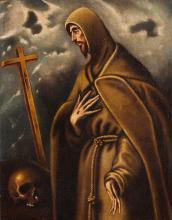 """Circle of Doménikos Theotokópoulos """"El Greco"""""""