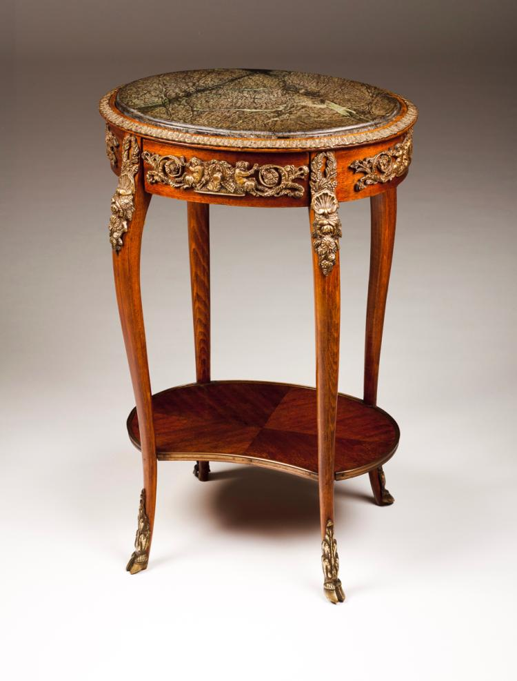 A Louis Xv Style Occasional Table