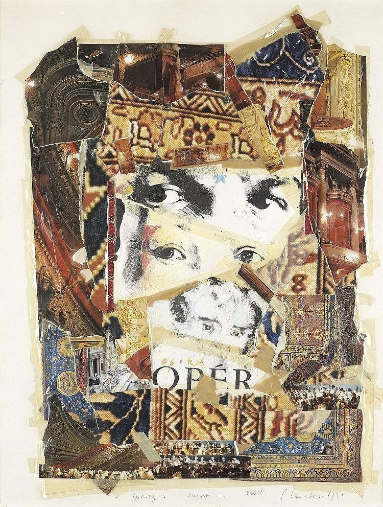 Jean-Paul CHAMBAS   « DEBUSSY- MOZART - RAVEL », 1990