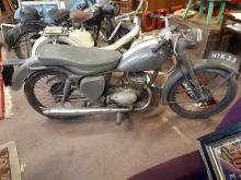 1956 BSA Bantem motor cycle Reg. HIK 33, 150CC engine, with tax book.