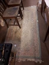 Carpet runner. { 195cm L X 94cm W }.