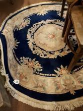 Circular rug. { 170cm W }.