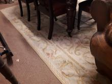 Decorative carpet square. { 320cm L X 230cm W }.