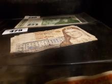 Four Irish £ 5 notes  - 13. 1. 95, 16.1. 97, 14.9.98 & 15.10 99.