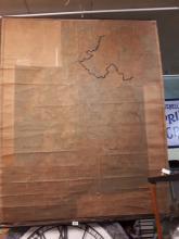 Rare RIC Station map of Ireland.