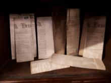 Collection of ten Newspapers - The Dundalk Herald 1888, The Central Adverti