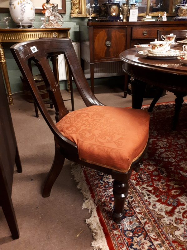 Set of six harlequin victorian mahogany dining room chairs for Dining room furniture auctions