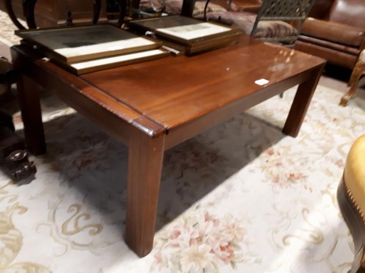 Retro coffee table 170 cm l x 41 cm h x 70 w for Coffee table 70 x 70