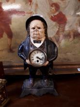 Late 19th. C. Mystery John Bull Clock.