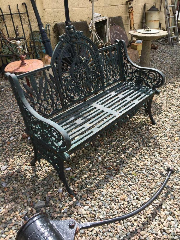 Decorative Garden Bench Decorative Cast Iron Garden Bench