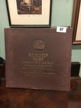 BRAHMS Opera 85 records.