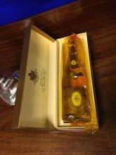 Vintage bottle of 1913 CRISTAL Champagne.