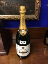Vintage Magnum  bottle of 1982 HEIDSIECK DRY MONOPOLE Champagne.