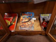 Three Eagle annuals. 1960's and 70's.