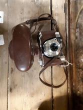 Kodak Retinette camera in original leather case. Made in Germany.