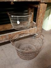 Two potato baskets.