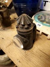 19th. C. Railway signal lamp.