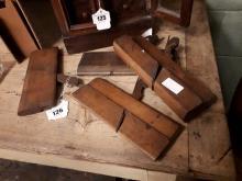 Four carpenter's planes