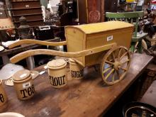 Early 20th. C. child's hand cart
