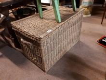 19th. C. laundry basket.
