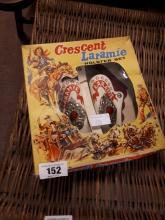 Crescent Laramie toy holster set in original box.