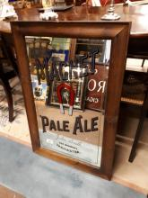 Magnet Pale Ale John Smith Tadcaster advertising mirror.