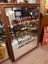 Martin's Old Highland Whiskey James Martin & Co Leith Scotland advertising