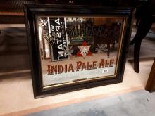William Younger Indian Pale Ale advertising mirror.