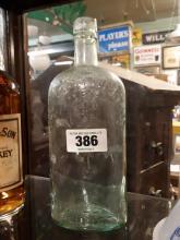 Old Irish Whiskey Mitchell's of Belfast bottle.