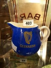 Guinness Carleton ware jug.