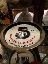 Five Million Guinness For Strength Everyday advertising tray.