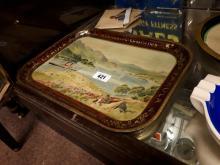 Marshall's Semolina , Farola Wheat Foods advertising tray.