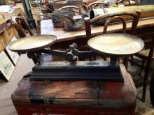 Early 20th. C. shop scales.