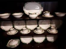 1940's ceramic dinner service.