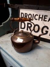 19th. C. copper kettle.