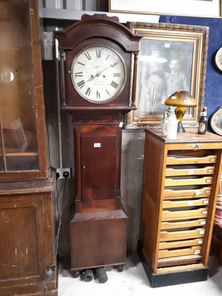 from Lucas dating painted dial grandfather clocks