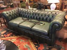 Chesterfield three seater sofa.