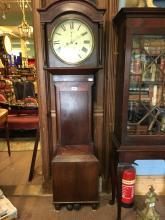 19th. C. longcase clock. SMITH of MONAGHAN.