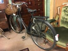 1950's High Nellie Ladies' bicycle with original basket.
