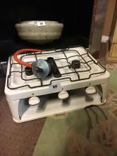 Portable gas hob.